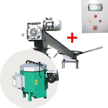 Automatic set for biomass burning AZSB 100 GC NS with ceramic burner 100kW