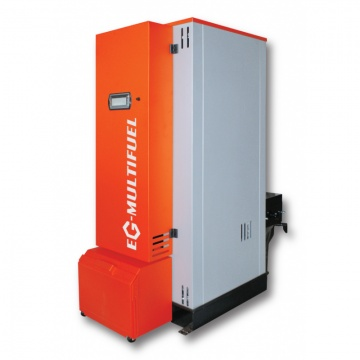 Boiler for pellets and wood chips EG-Multifuel 40 kW