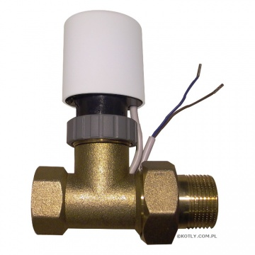 Two-way Valve with actuator BR