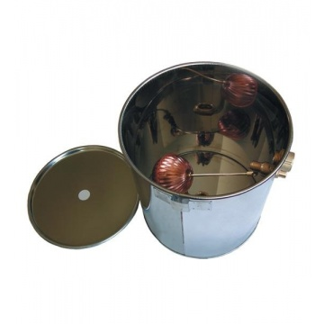 Stainless expansion vessel round universal 20 L