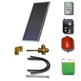 Solar package for 2-3 persons without hot water tank - 1 x collectors ES2V 2,65S Cu-Cu, STDC, S18