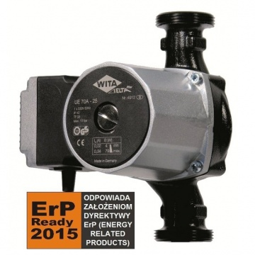 Central heating pump WITA Delta Plus UE 75A - 25 180
