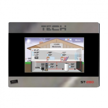 Room regulator TECH ST-280 EU with RS communication