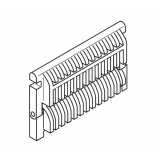 Front hanging grate for boiler DAKON DOR 20, 24, 32
