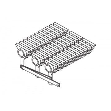 Movable grate for boiler DAKON DOR 12, 16