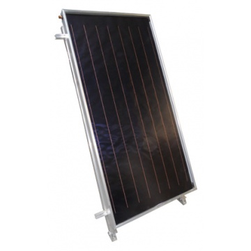 Solar collector EM1V 2,0S - mounted vertically. Area: 2,02m2 - Silver
