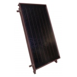 Solar collector EM1V 2,0B - mounted vertically. Area: 2,02m2 - Brown