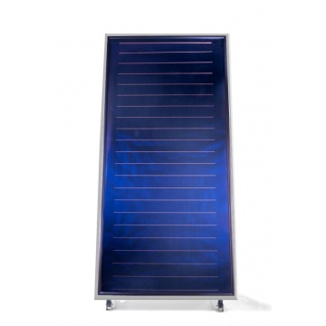 Solar collector ES2V 2,65S - mounted vertically. Area: 2,65m2 - Silver