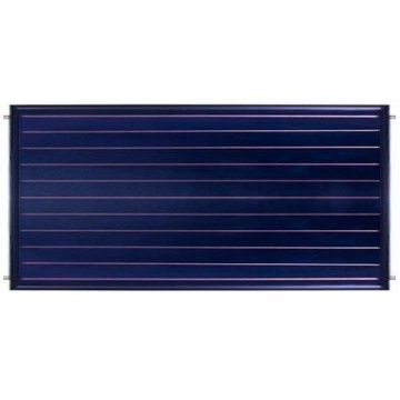 Solar collector ES2H 2,65B - mounted horizontal. Area: 2,65m2 - Brown