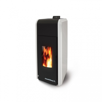 Pellet stove Idro 29 kW with a water jacket