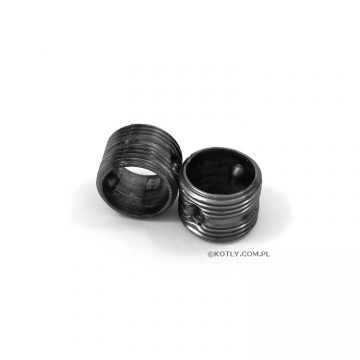 Connection fittings for aluminum radiator - 2 pieces