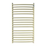 Copper bathroom radiator GMY2 528x935 Ecru