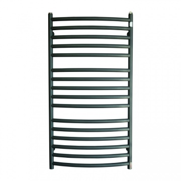 Copper bathroom radiator GMY4 528x1540 Graphite