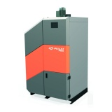 Boiler EG-Pellet PRO 25 kW with built-in hot water tank and accumulation tank