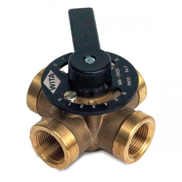 "Four-way mixing valve WITA Minimix MI 4 x 3/4"" (thread: interior)"