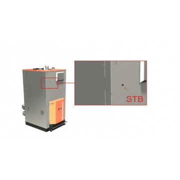 Boiler for pellets and wood chips EG-Multifuel 350 kW