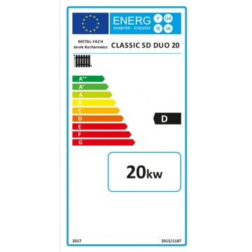 Boiler Metal-Fach Classic SD Duo Plus 20 kW