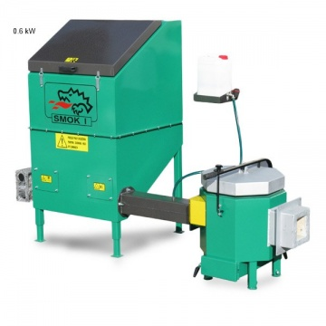 Automatic stoker APSB SMOK GC with ceramic burner  50 kW - for wet biomass - 230V