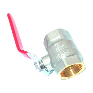 Ball valve with handle - 3/4 ""