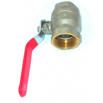 Ball valve with handle - 1 1/2 ""