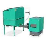 Automatic set for biomass burning AZSB 60 GZ with cast-iron burner 60kW - 230V