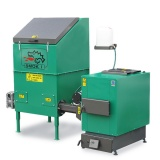 Automatic set for biomass burning AZSB 30 GZ with cast-iron burner 30kW - 230V