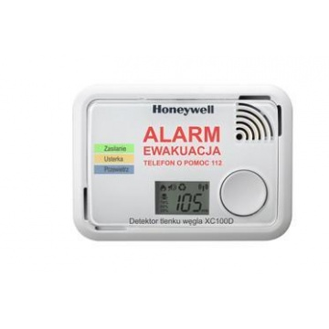 Carbon monoxide detector Honeywell XC100D - battery powered