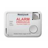 Carbon monoxide detector Honeywell XC100 - battery powered
