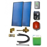 Solar package for 2-3 persons without hot water tank - 2 collectors ES2V 2,65S Al-Cu, STDC, S24