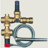 Two-way thermal release valve SYR 5067 - 3/4 with pressure reducing valve (capillary: 5 meter)