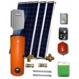 Solar package ENSOL (3 hibrid collectors E-PVT 2.0L) 2W.200for 2 or 3 people family