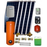 Solar package ENSOL (5 hibrid collectors E-PVT 2.0) 2W.300 for 3 or 5 people family