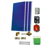 Solar package for 3-5 persons without hot water tank - 3 collectors EM1V 2,0S, STDC, S24