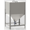 Hoppers - silo for pellets VIADRUS A0C / A2C Zinc plated - 1200 liters