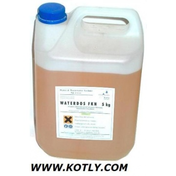 Anti-freeze liquid WATERDOS FKN-28 5kg (for central heating instalations)