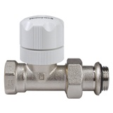 "Thermostatic valve Honeywell V310DBB15 with a knob - straight (threads: 1/2"")"
