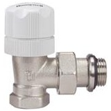 "Thermostatic valve Honeywell V310EBB15 with a knob - angle (threads: 1/2"")"