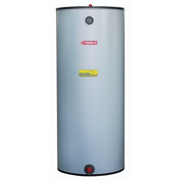 Stainless steel hot water tank Termica WW 120 L with 1 coil
