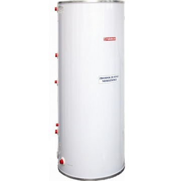 Stainless steel hot water tank Termica WW 250 L with 1 coil