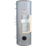 Storage water heater Termica W2W 300 L with 2 coils (1,4 + 0,9 m2)