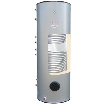 Storage water heater Termica W2W 400 L with 2 coils