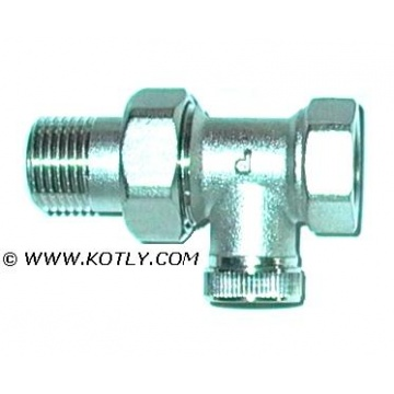 "Lockshield valve DN 15 - straight (threads: 1/2"")"